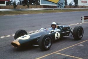 Sir Jack Brabham at Sandown